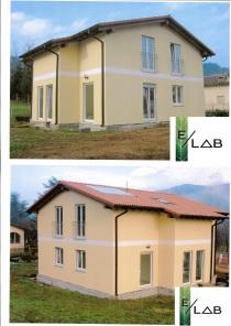 Nuova abitazione unifamigliare in provincia di Bologna in struttura in legno prefabbricato