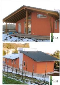 Nuova abitazione bifamigliare in struttura prefabbricata in legno in Fidenza (PR)
